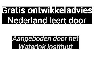 Gratis Ontwikkeladvies – Nederland leert door Logo